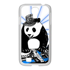Deejay Panda Samsung Galaxy S4 I9500/ I9505 Case (white) by Valentinaart