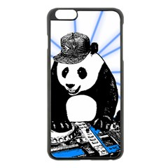 Deejay Panda Apple Iphone 6 Plus/6s Plus Black Enamel Case