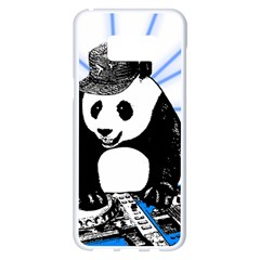 Deejay Panda Samsung Galaxy S8 Plus White Seamless Case by Valentinaart