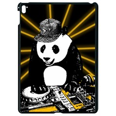 Deejay Panda Apple Ipad Pro 9 7   Black Seamless Case by Valentinaart