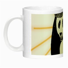 Deejay Panda Night Luminous Mugs by Valentinaart