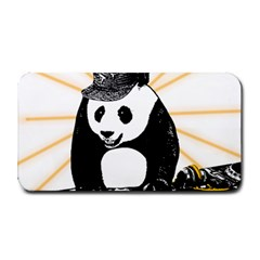 Deejay Panda Medium Bar Mats by Valentinaart