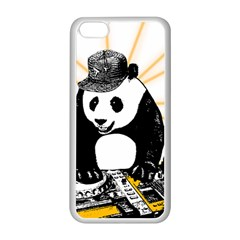 Deejay Panda Apple Iphone 5c Seamless Case (white) by Valentinaart