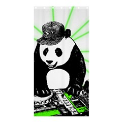 Deejay Panda Shower Curtain 36  X 72  (stall)