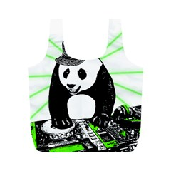 Deejay Panda Full Print Recycle Bags (m)