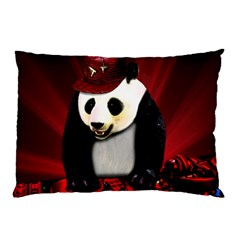 Deejay Panda Pillow Case (two Sides)