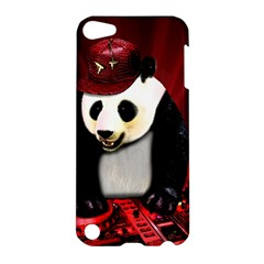 Deejay Panda Apple Ipod Touch 5 Hardshell Case by Valentinaart