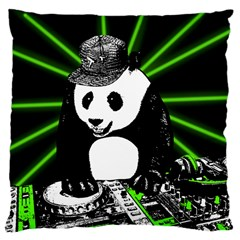 Deejay Panda Large Cushion Case (two Sides)