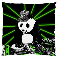 Deejay Panda Standard Flano Cushion Case (two Sides)