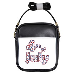 4th Of July Independence Day Girls Sling Bags