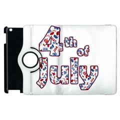 4th Of July Independence Day Apple Ipad 3/4 Flip 360 Case