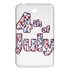 4th Of July Independence Day Samsung Galaxy Tab 3 (7 ) P3200 Hardshell Case  by Valentinaart