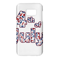 4th Of July Independence Day Samsung Galaxy S7 Hardshell Case