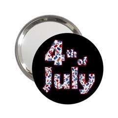 4th Of July Independence Day 2 25  Handbag Mirrors