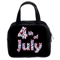 4th Of July Independence Day Classic Handbags (2 Sides)