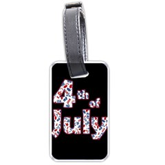 4th Of July Independence Day Luggage Tags (one Side)