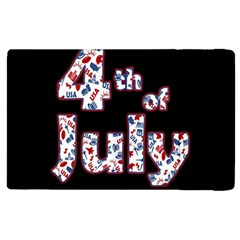 4th Of July Independence Day Apple Ipad 3/4 Flip Case by Valentinaart