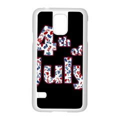 4th Of July Independence Day Samsung Galaxy S5 Case (white)