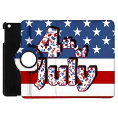 4th Of July Independence Day Apple Ipad Mini Flip 360 Case by Valentinaart