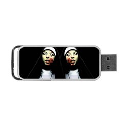 Horror Nuns Portable Usb Flash (one Side) by Valentinaart