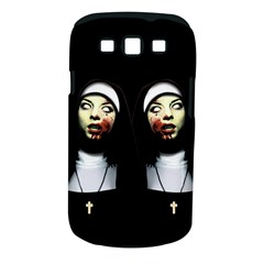 Horror Nuns Samsung Galaxy S Iii Classic Hardshell Case (pc+silicone) by Valentinaart