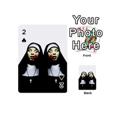 Horror Nuns Playing Cards 54 (mini)  by Valentinaart