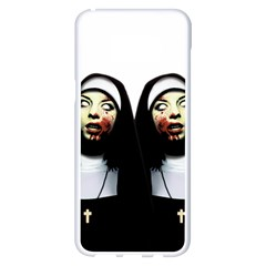 Horror Nuns Samsung Galaxy S8 Plus White Seamless Case by Valentinaart