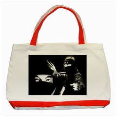 Ninja Classic Tote Bag (red)