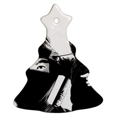 Ninja Christmas Tree Ornament (two Sides) by Valentinaart