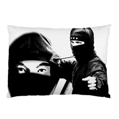 Ninja Pillow Case (two Sides) by Valentinaart