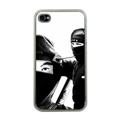Ninja Apple Iphone 4 Case (clear)