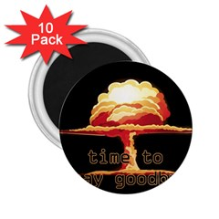 Nuclear Explosion 2 25  Magnets (10 Pack)  by Valentinaart