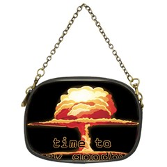 Nuclear Explosion Chain Purses (two Sides)  by Valentinaart