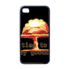 Nuclear Explosion Apple Iphone 4 Case (black) by Valentinaart
