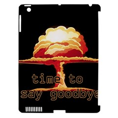 Nuclear Explosion Apple Ipad 3/4 Hardshell Case (compatible With Smart Cover) by Valentinaart