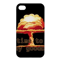 Nuclear Explosion Apple Iphone 4/4s Premium Hardshell Case