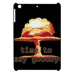 Nuclear Explosion Apple Ipad Mini Hardshell Case by Valentinaart