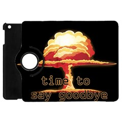 Nuclear Explosion Apple Ipad Mini Flip 360 Case by Valentinaart