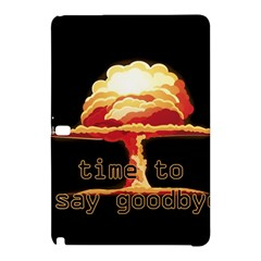 Nuclear Explosion Samsung Galaxy Tab Pro 12 2 Hardshell Case by Valentinaart