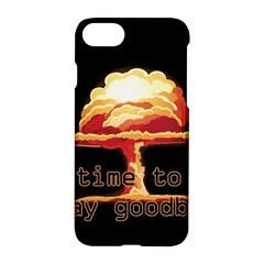 Nuclear Explosion Apple Iphone 7 Hardshell Case by Valentinaart