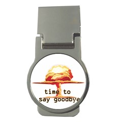 Nuclear Explosion Money Clips (round)