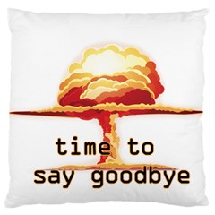 Nuclear Explosion Large Cushion Case (one Side)
