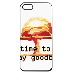 Nuclear Explosion Apple Iphone 5 Seamless Case (black) by Valentinaart