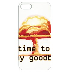 Nuclear Explosion Apple Iphone 5 Hardshell Case With Stand by Valentinaart