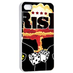 Nuclear Explosion Trump And Kim Jong Apple Iphone 4/4s Seamless Case (white) by Valentinaart