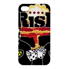 Nuclear Explosion Trump And Kim Jong Apple Iphone 4/4s Hardshell Case by Valentinaart