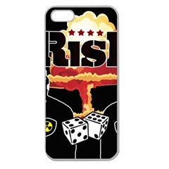 Nuclear Explosion Trump And Kim Jong Apple Seamless Iphone 5 Case (clear) by Valentinaart