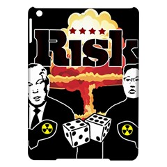 Nuclear Explosion Trump And Kim Jong Ipad Air Hardshell Cases by Valentinaart