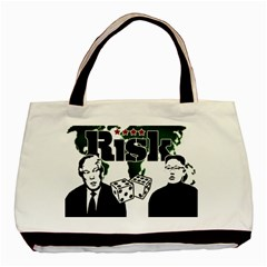 Nuclear Explosion Trump And Kim Jong Basic Tote Bag (two Sides) by Valentinaart