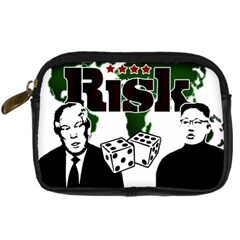 Nuclear Explosion Trump And Kim Jong Digital Camera Cases by Valentinaart